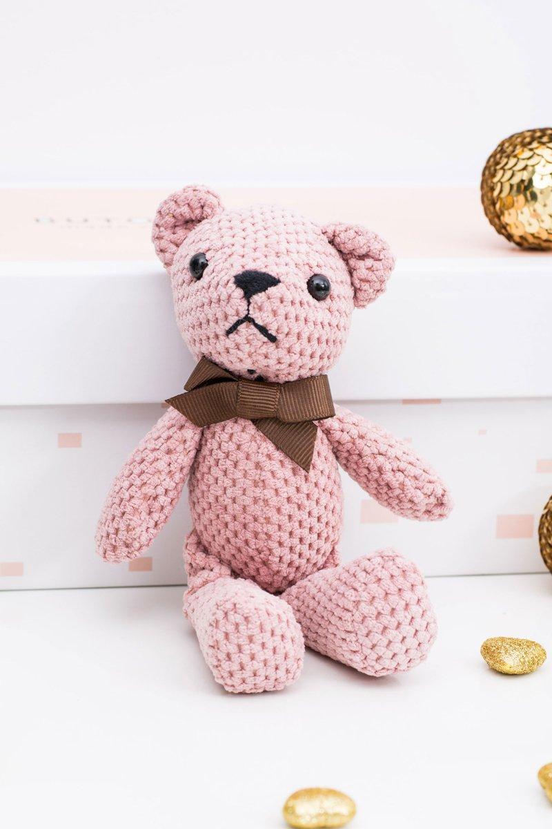 Big Teddy Bear Michaś Pendant Keyring to the Bag
