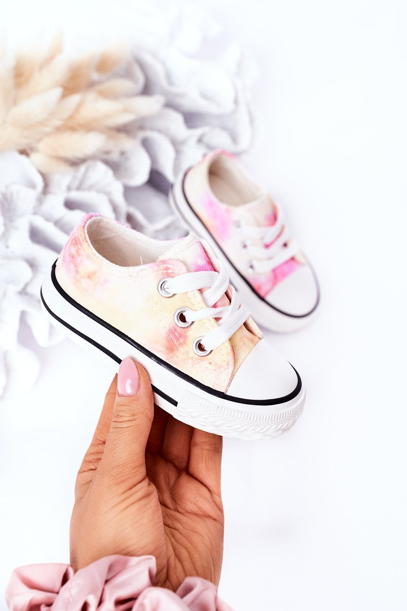 Children's Classic Sneakers With Tie-Dye Effect Simba