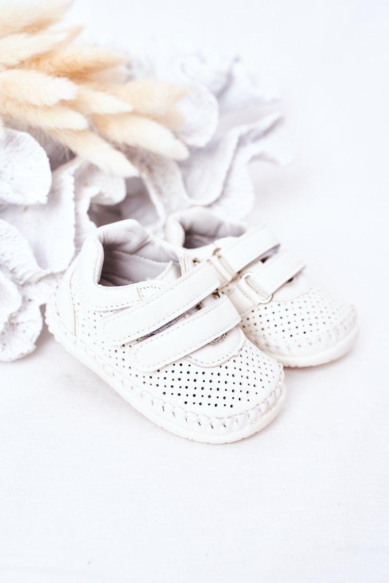 Children's Leather Sport Shoes White Billie