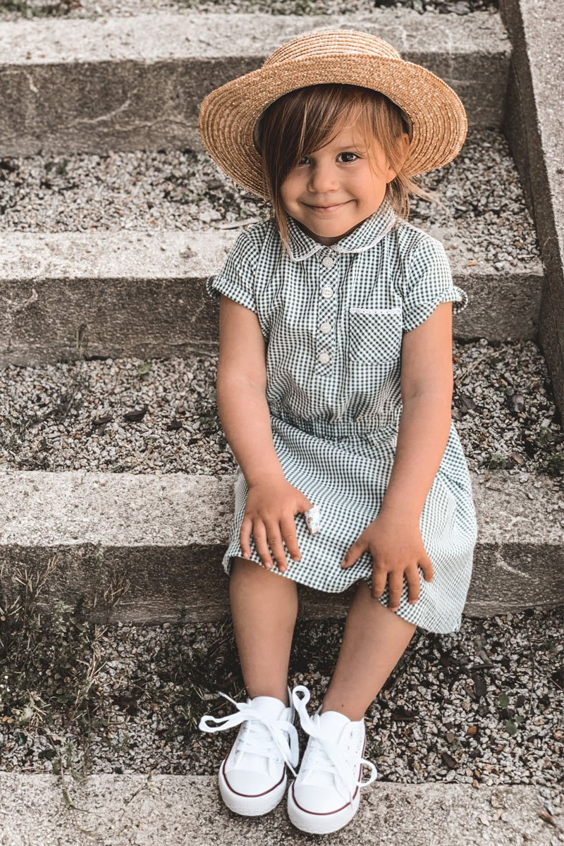 Children's Sneakers With Lace White Roly-Poly