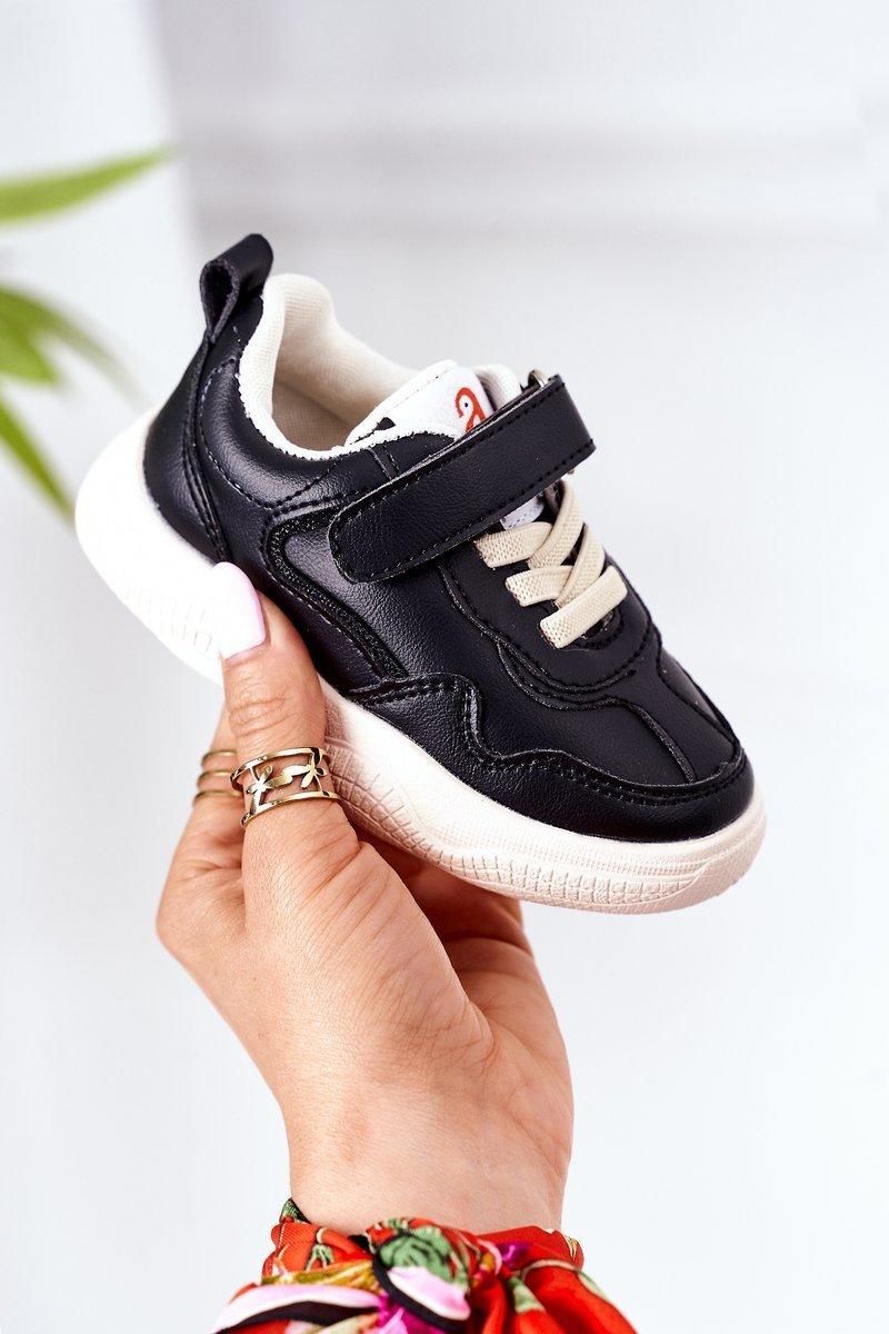 Children's Sport Shoes Sneakers Black Runner