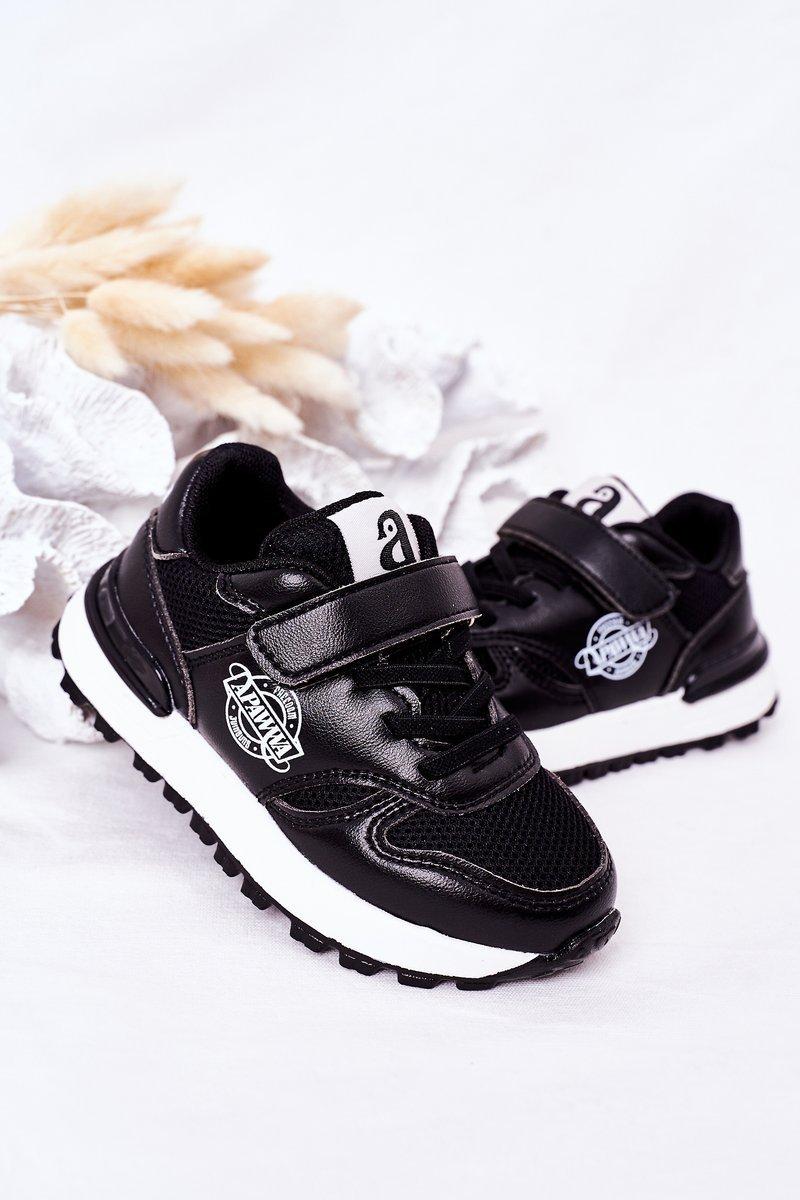 Children's Sport Shoes Sneakers Black Skatepark