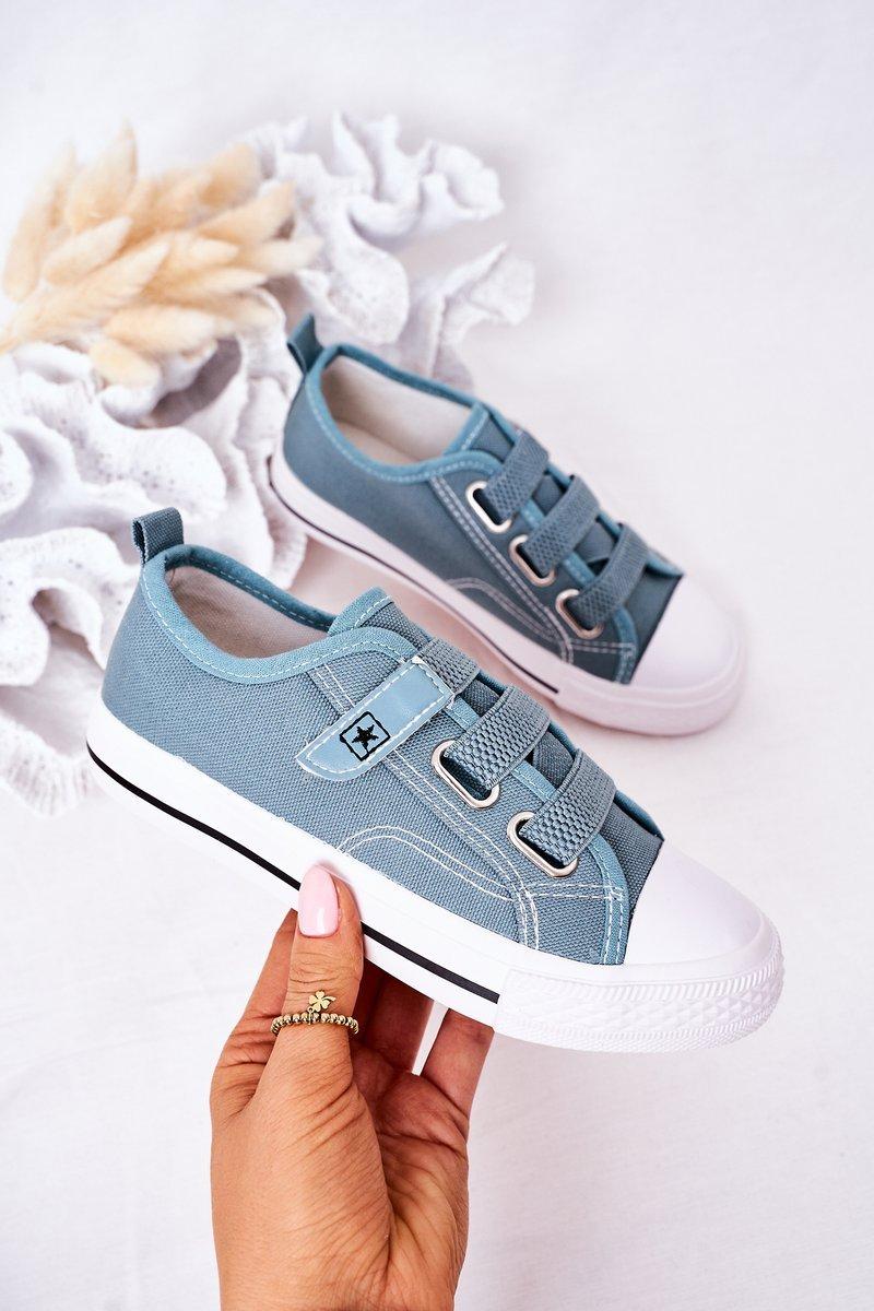 Children's Velcro Sneakers Blue Avengers