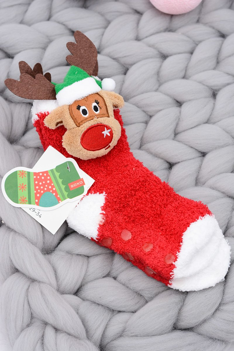 Christmas Socks for Children Soxo Reindeer