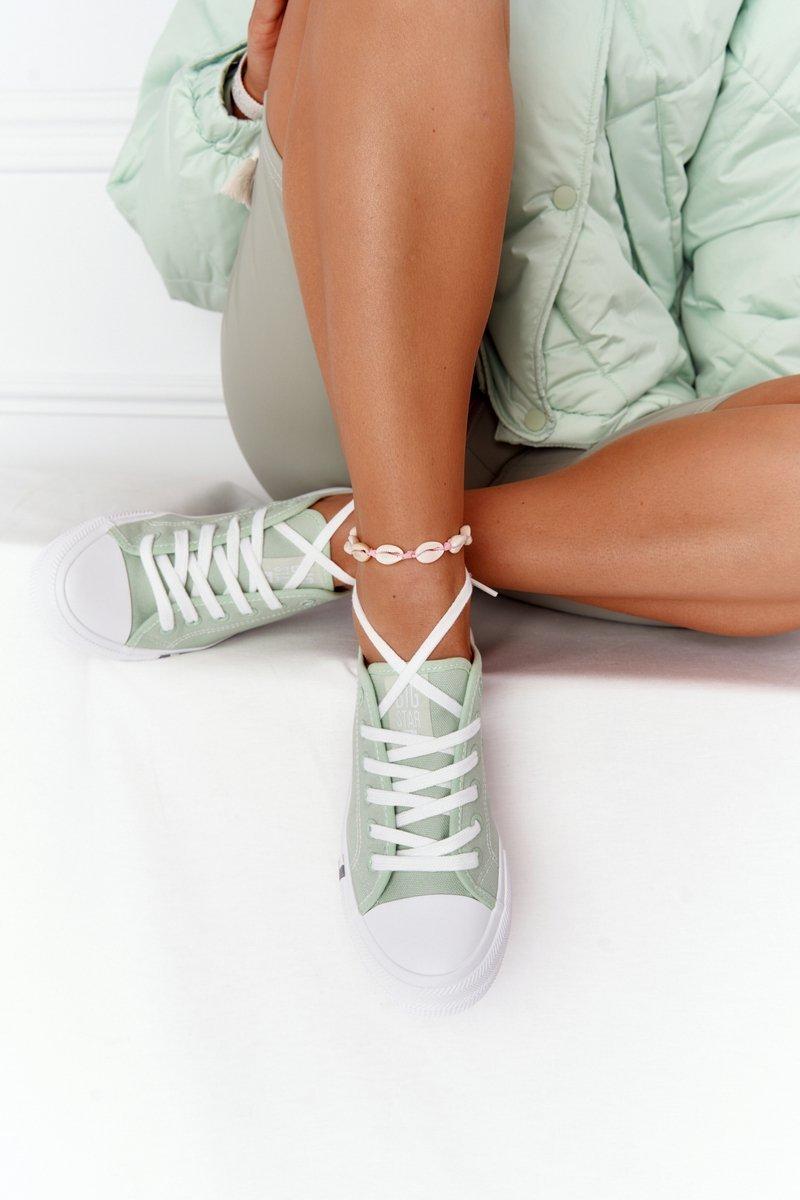 Classic Women's Sneakers BIG STAR HH274112 Green