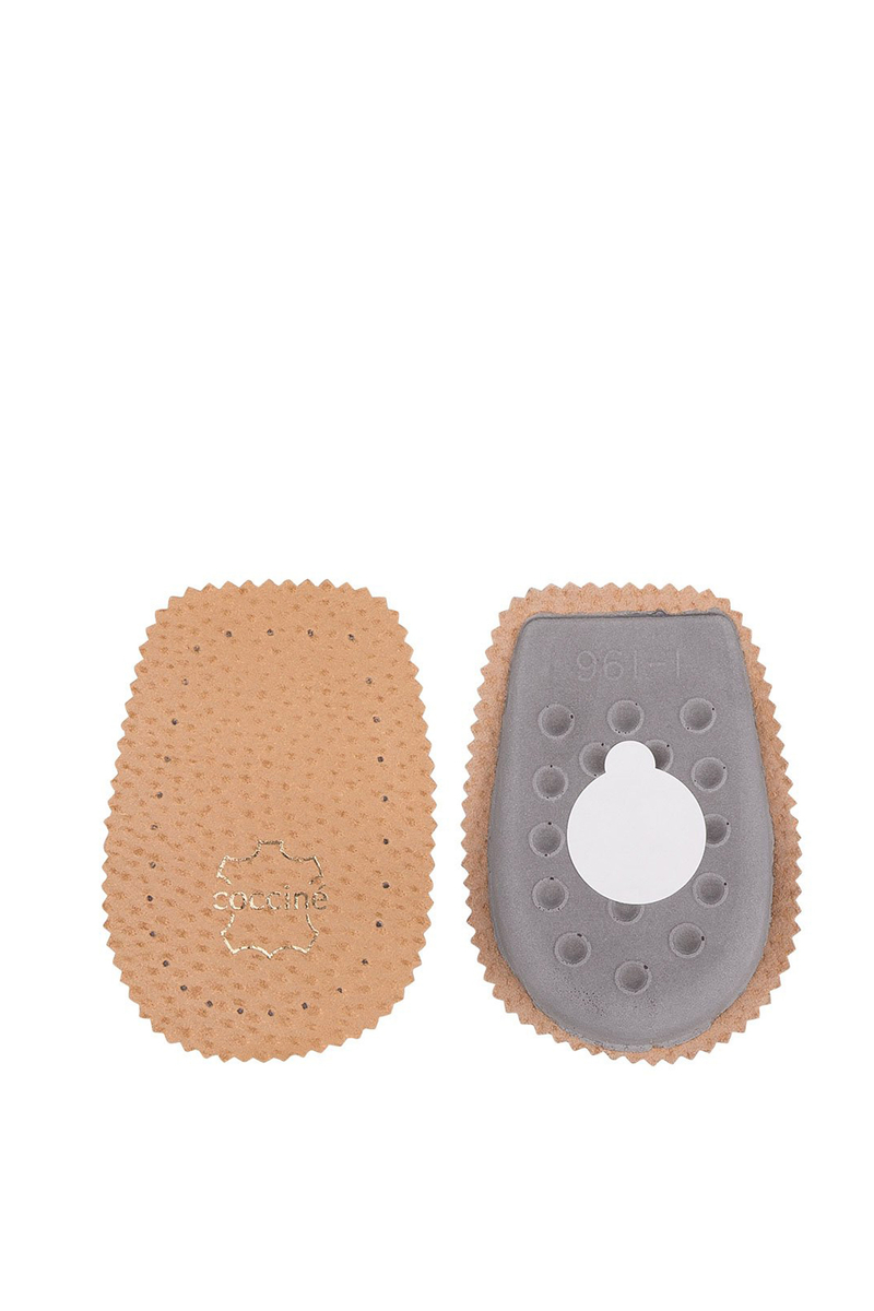 Coccine Latex Leather Heel Beige