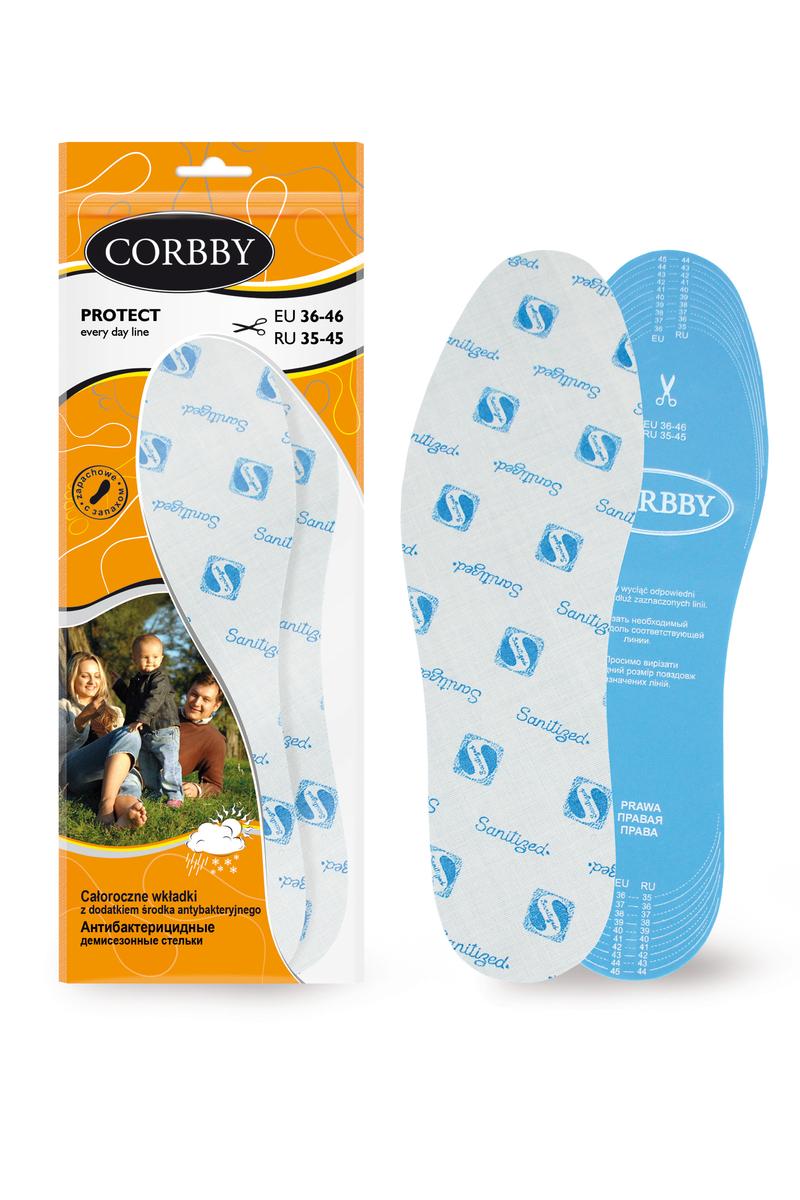 Corbby PROTECT całoroczne wkładki z dodatkiem środka antybakteryjnego