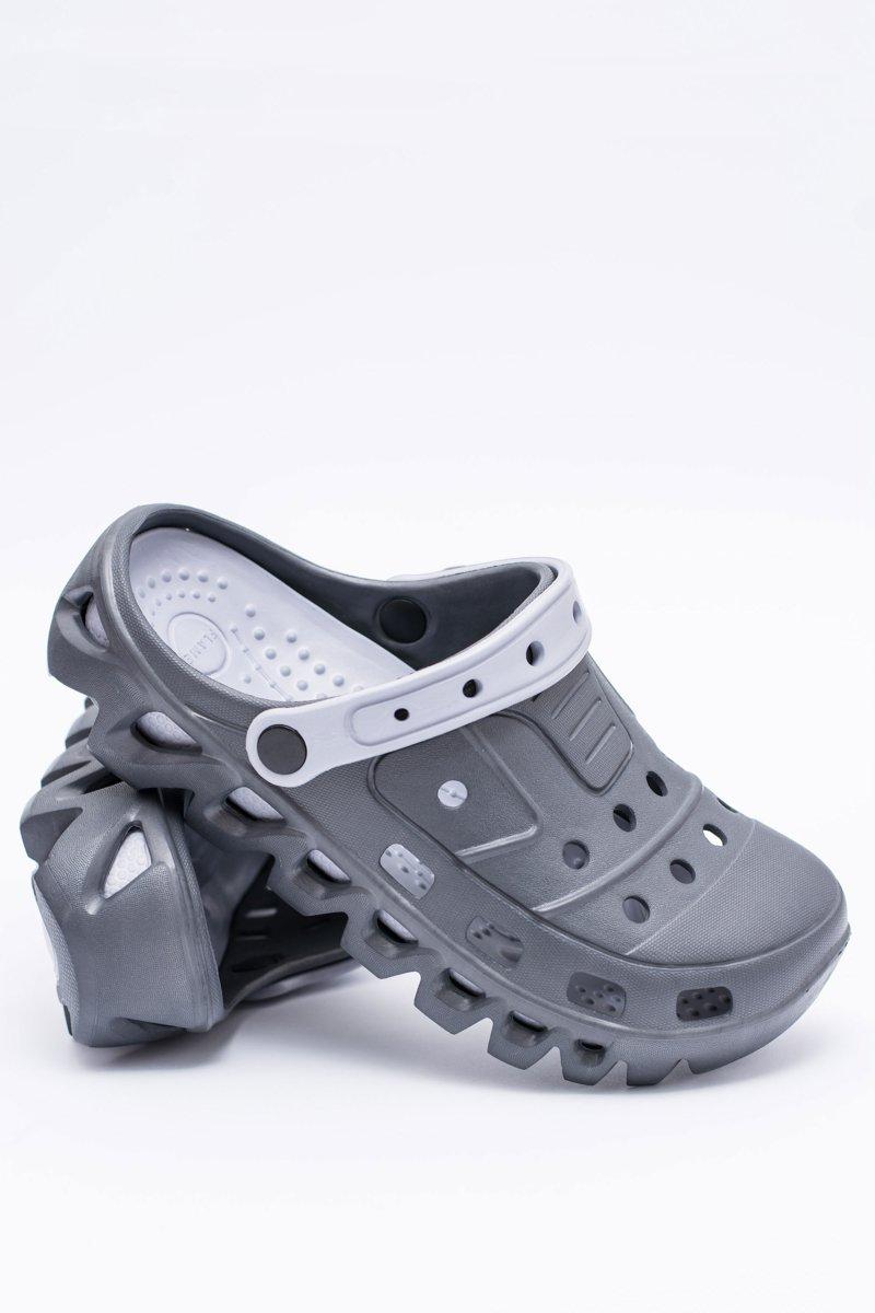 Dark Grey Men Garden Flip-flops EVA