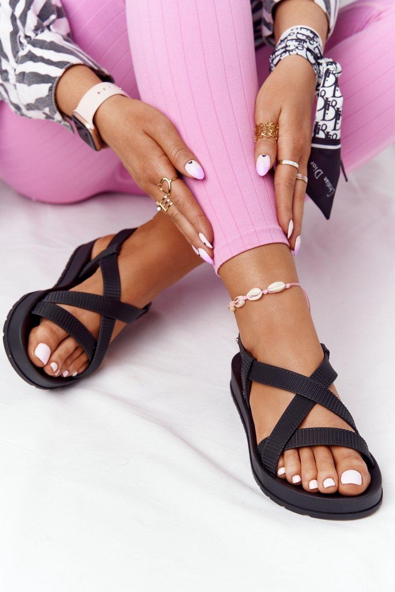 Fragrant Rubber Sandals Eco Friendly ZAXY HH285168 Black