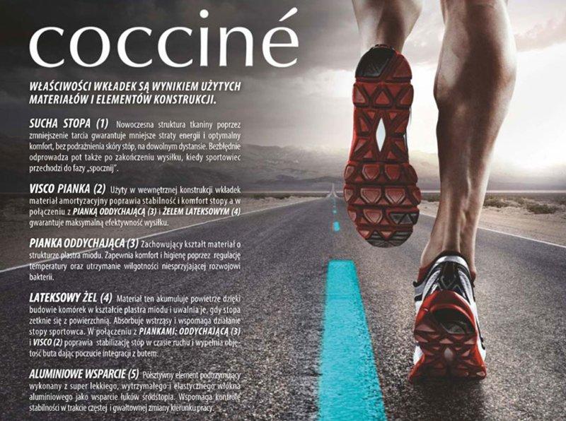 Insoles Coccine Thermo-Technic Sport Line Trekking