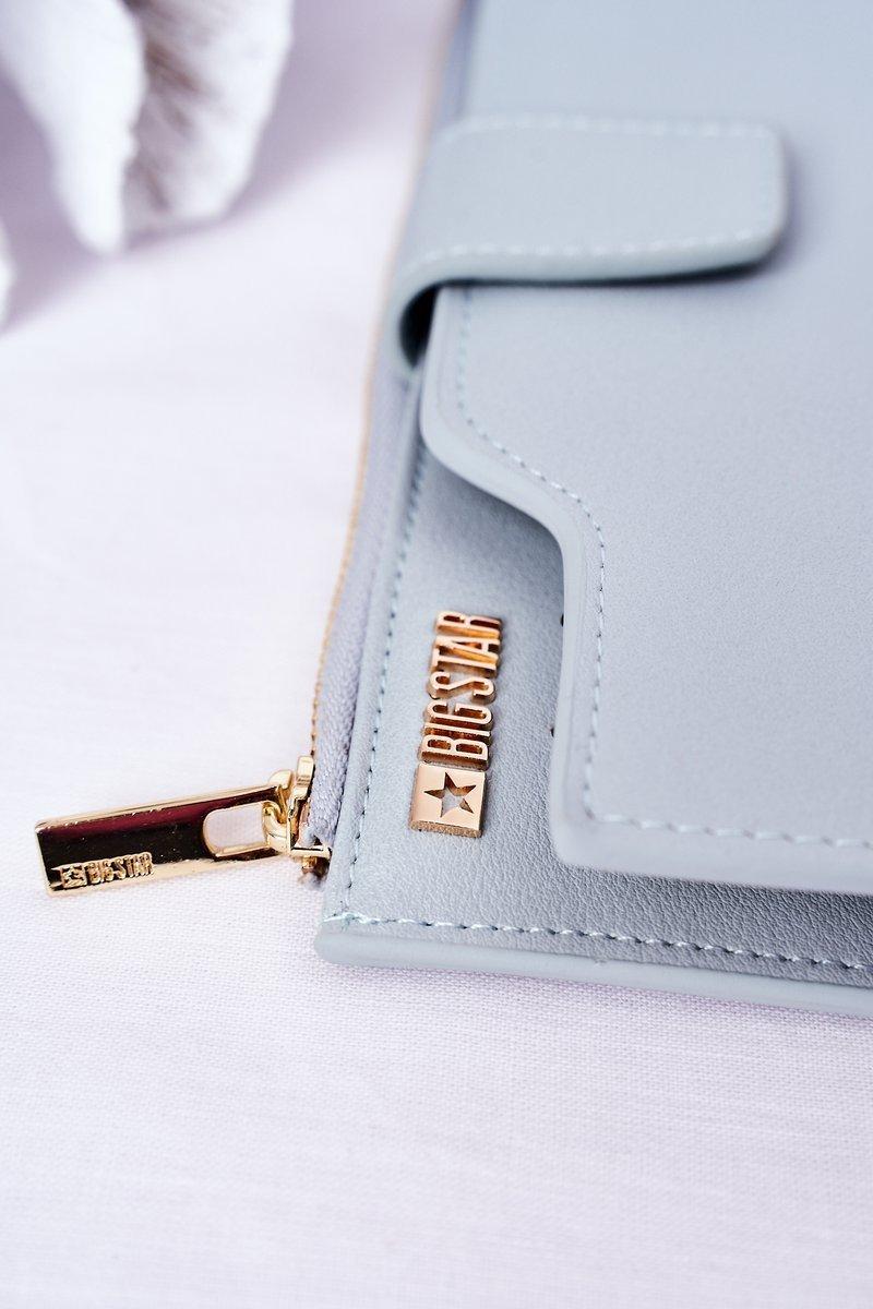 Leather Wallet Big Star HH674012 Light Blue