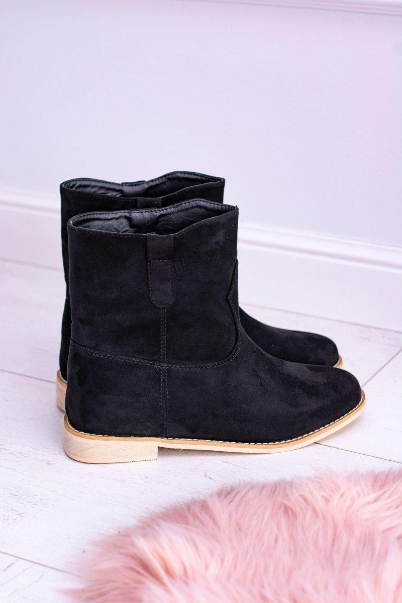 Lu Boo Slip-on Women's Ankle Boots Black Trinity
