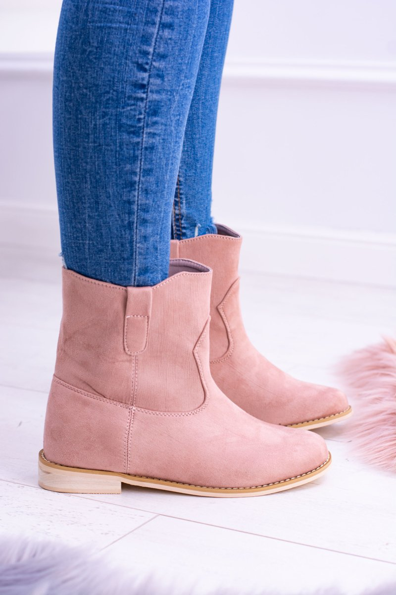Lu Boo Slip-on Women's Ankle Boots Pink Trinity