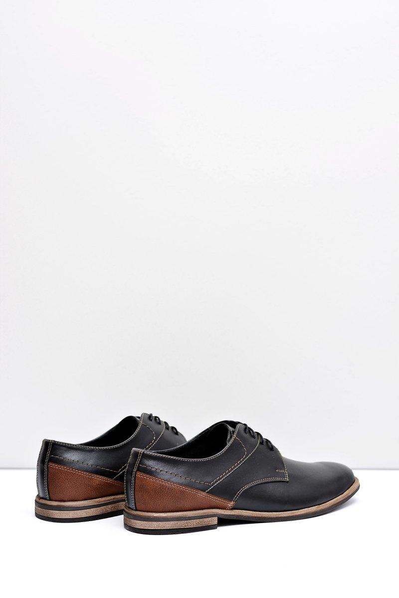 Men's Brogues Bednarek Elegant Leather Black Marcelo