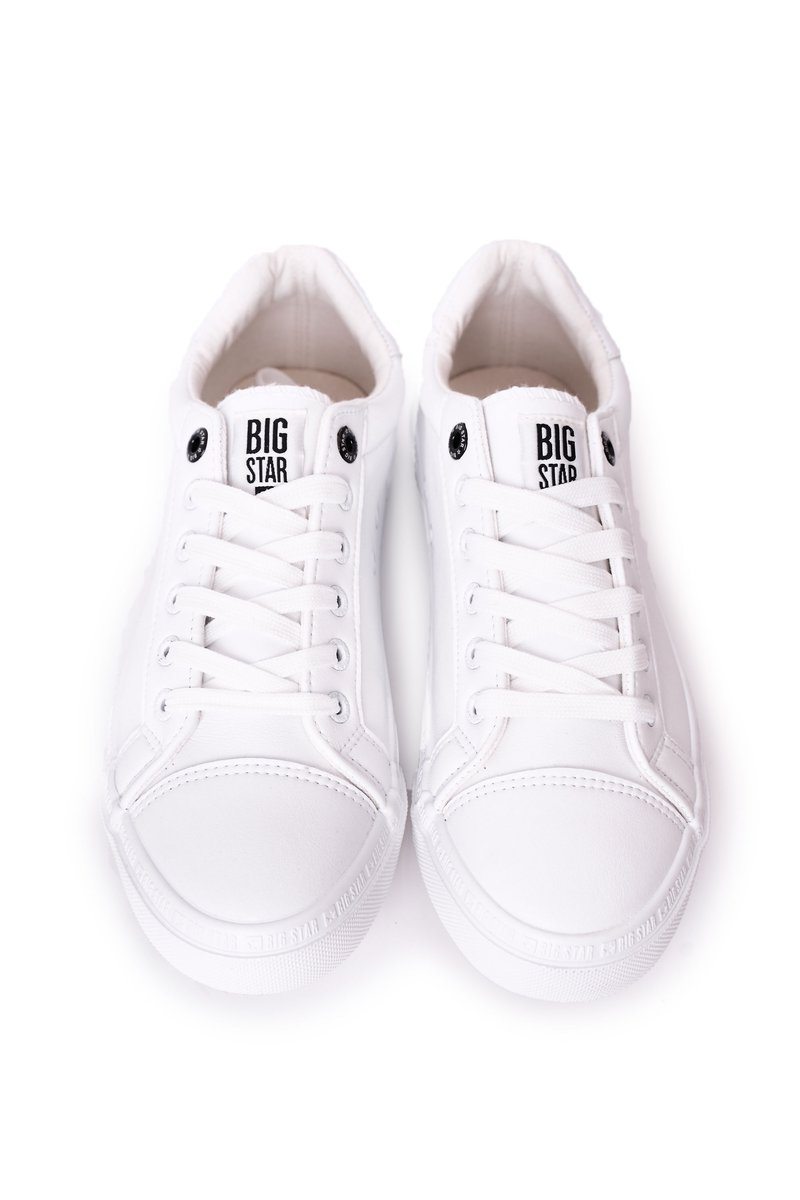 Men's Leather Sneakers Big Star HH174037 White