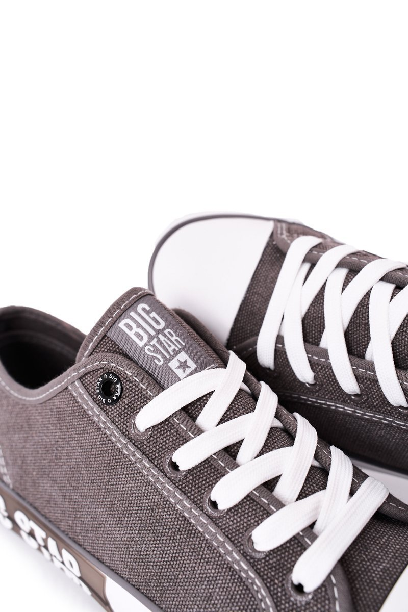 Men's Sneakers Big Star HH174049 Grey