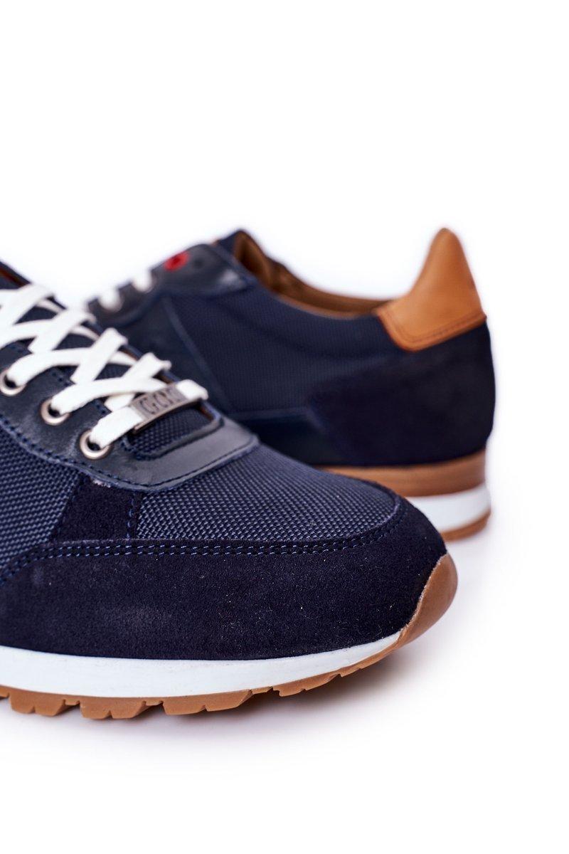 Men's Sports Shoes Sneakers GOE HH1N4053 Navy Blue