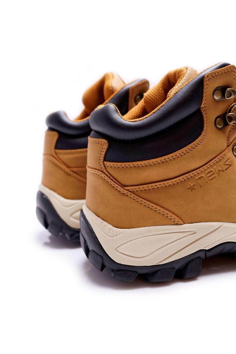 Men's Trekker Boots Warm Camel Jax