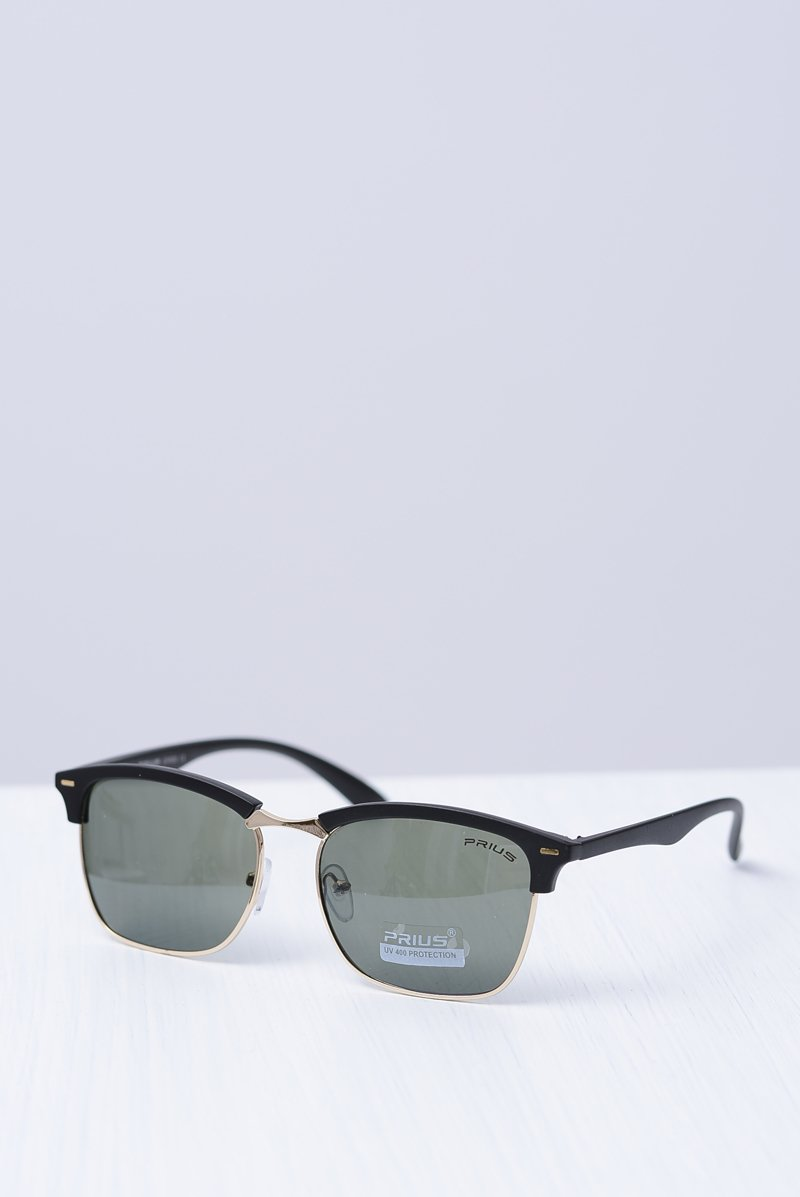 Okulary Mirrored PR-210B Czarne