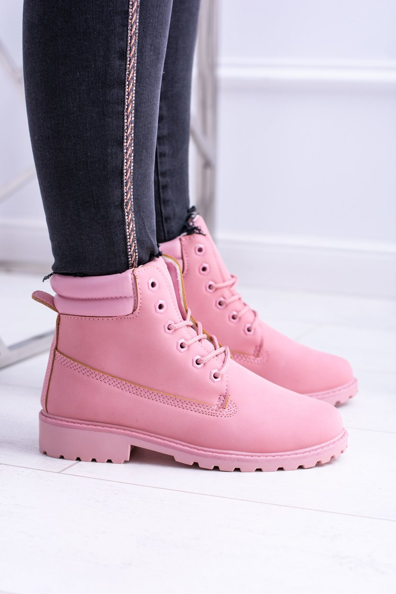 Pink Pastel Women's Boots Lucy