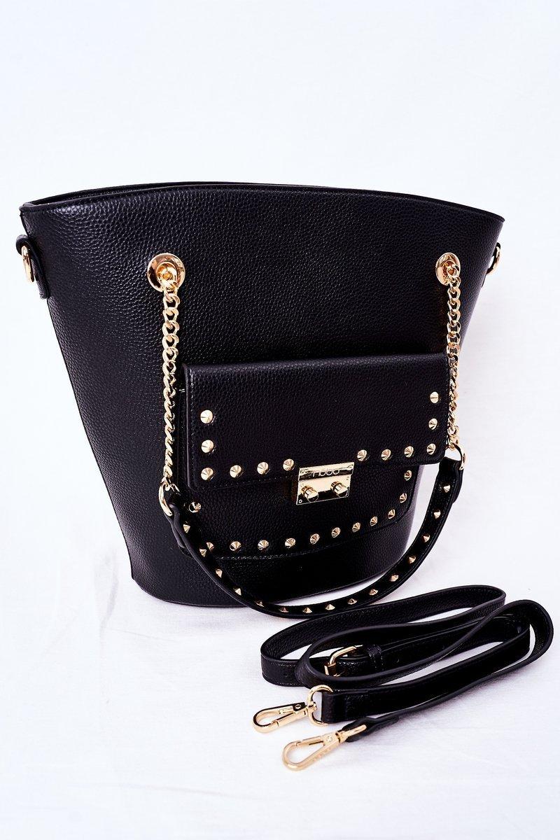 Shopper Shoulder Bag NOBO K4080 Black