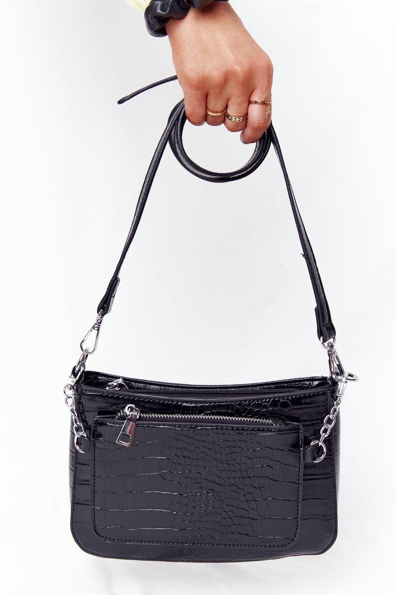 Small Shoulder Bag With A Sachet Paris Black
