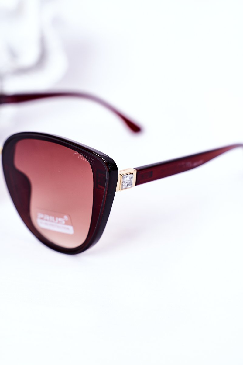 Women's Butterfly Sunglasses Brown Ombre