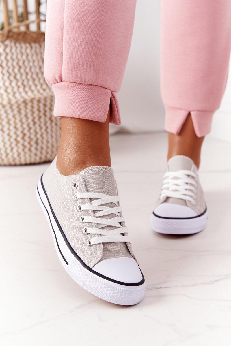Women's Classic Sneakers Grey Omerta