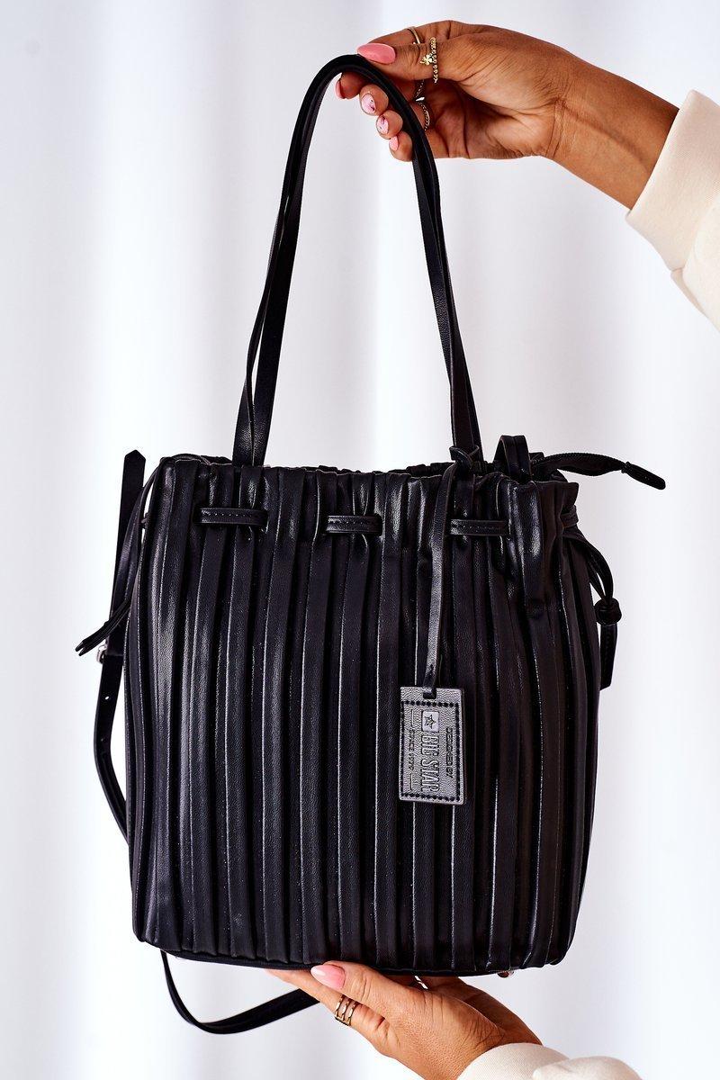 Women's Handbag Big Star HH574257 Black