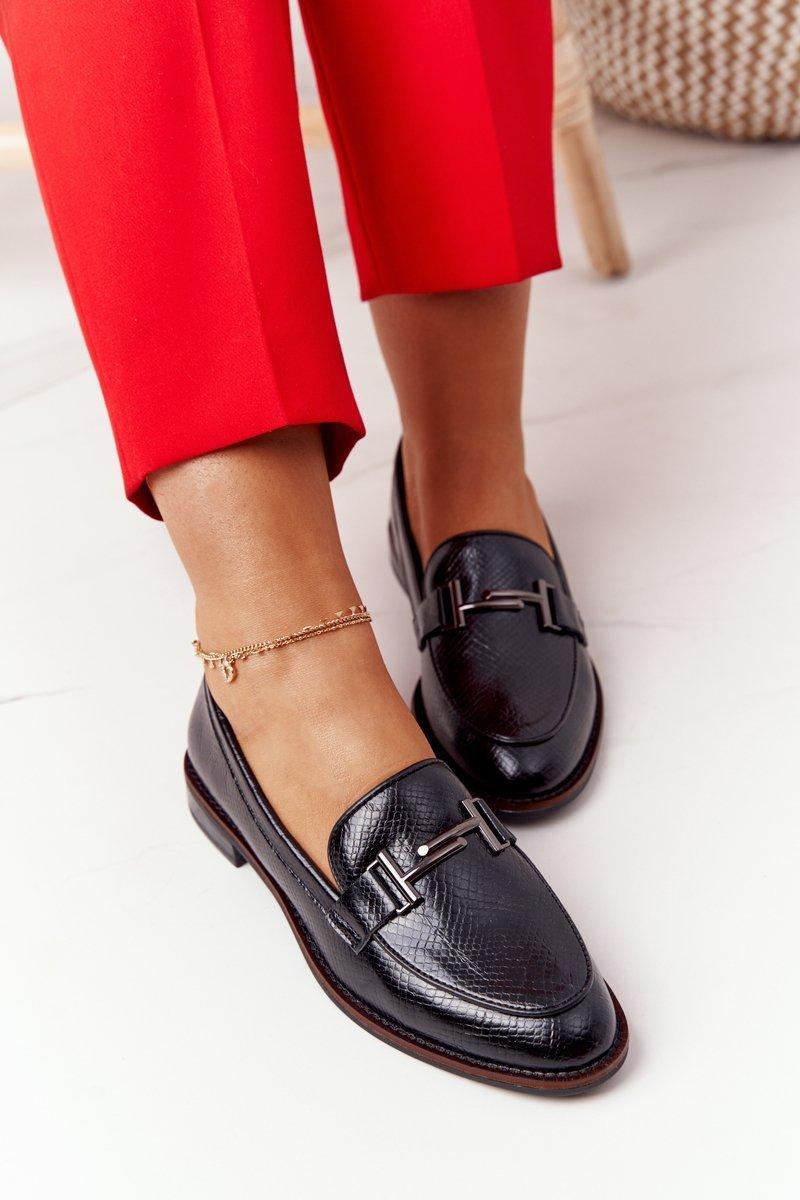 Women's Loafers Sergio Leone PB253 Black