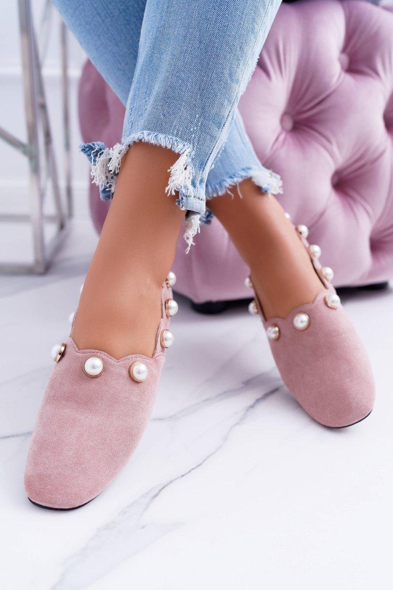 Women's Pink Ballerina Lu Boo Milis