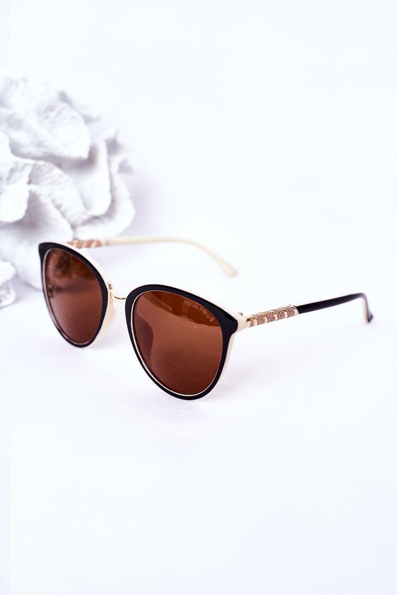 Women's Polarized Sunglasses Brown-Beige