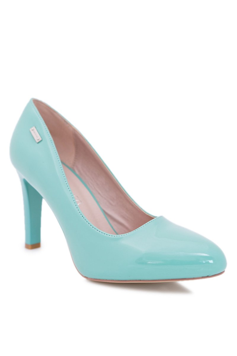 Women's Pumps Varnished Mint Sergio Leone Campbell