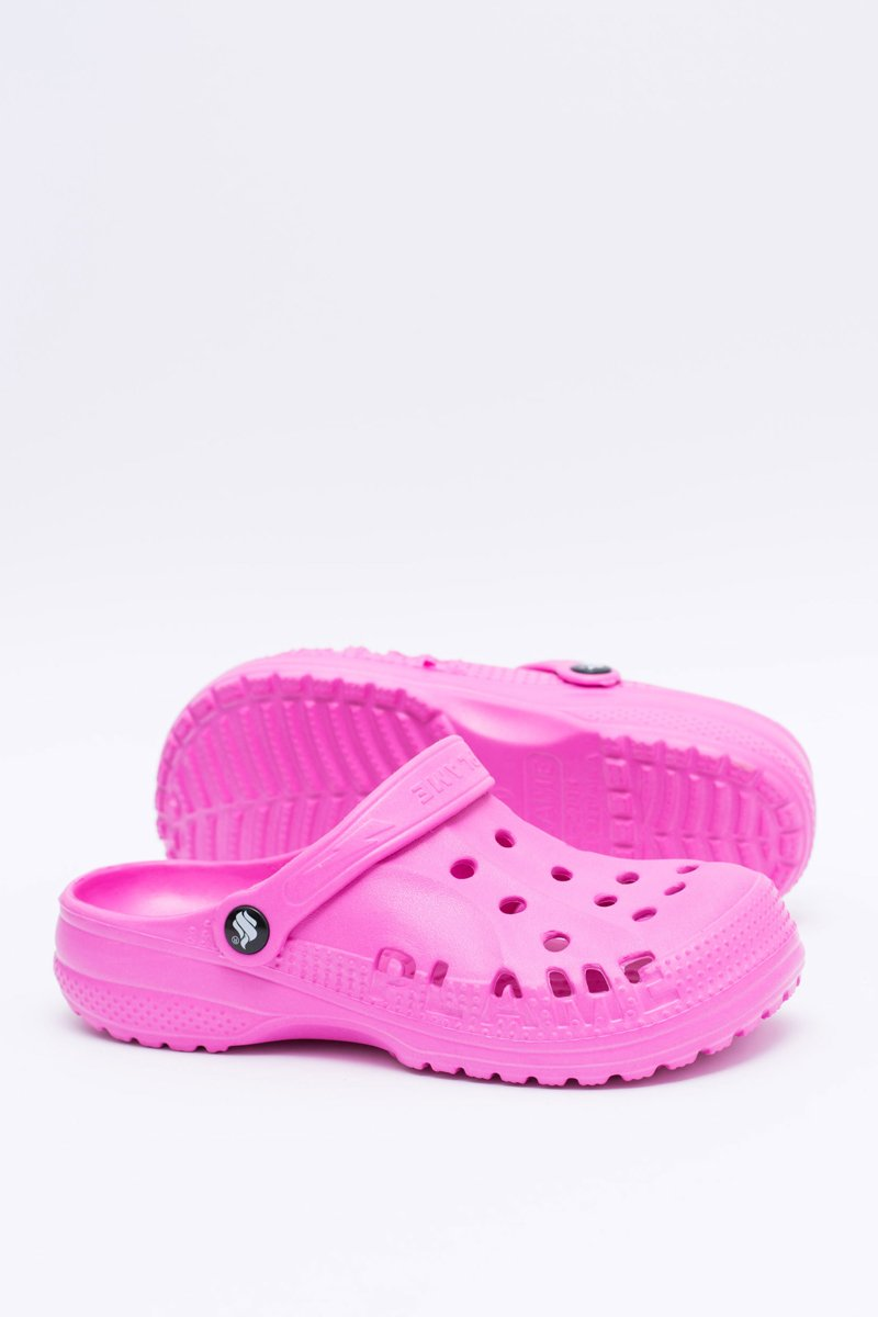 Women's Slides Crocs Pink Foam EVA