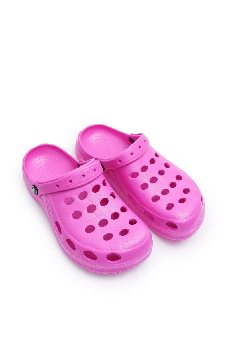 Women's Slides Foam Pink Crocs EVA