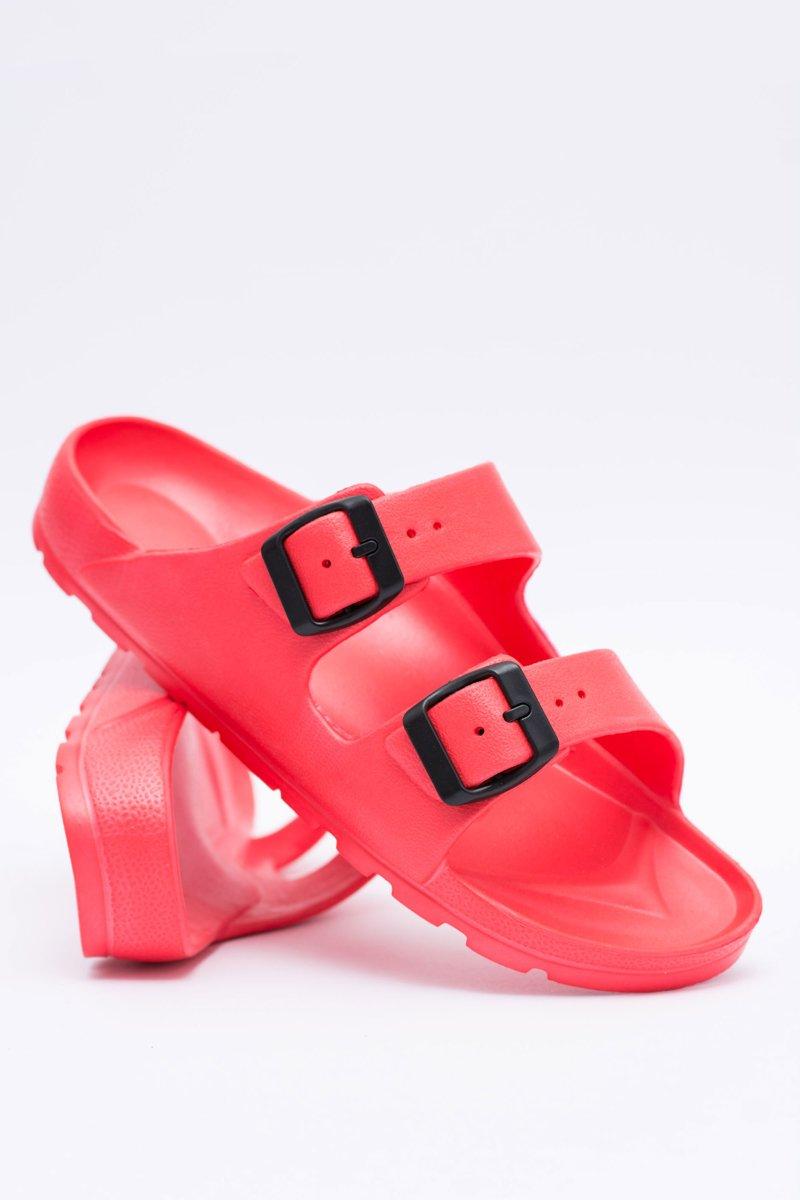 Women's Slides Light Garden EVA Red