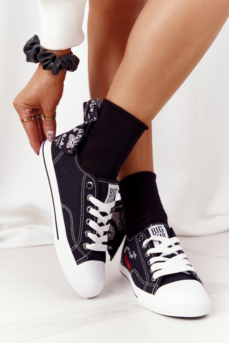 Women's Sneakers BIG STAR FF274082 Black