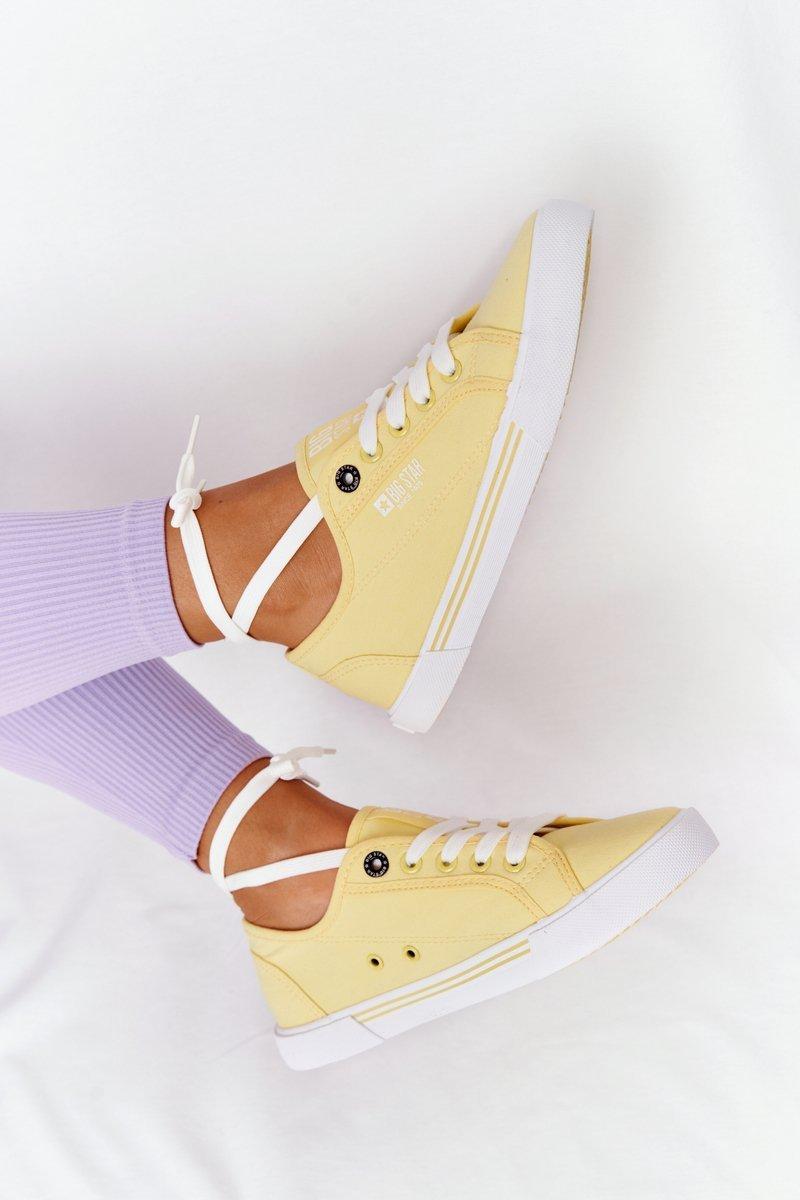 Women's Sneakers BIG STAR HH274062 Yellow