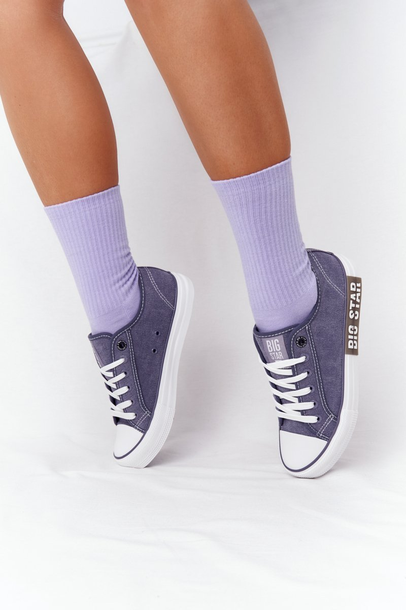 Women's Sneakers BIG STAR HH274114 Navy Blue