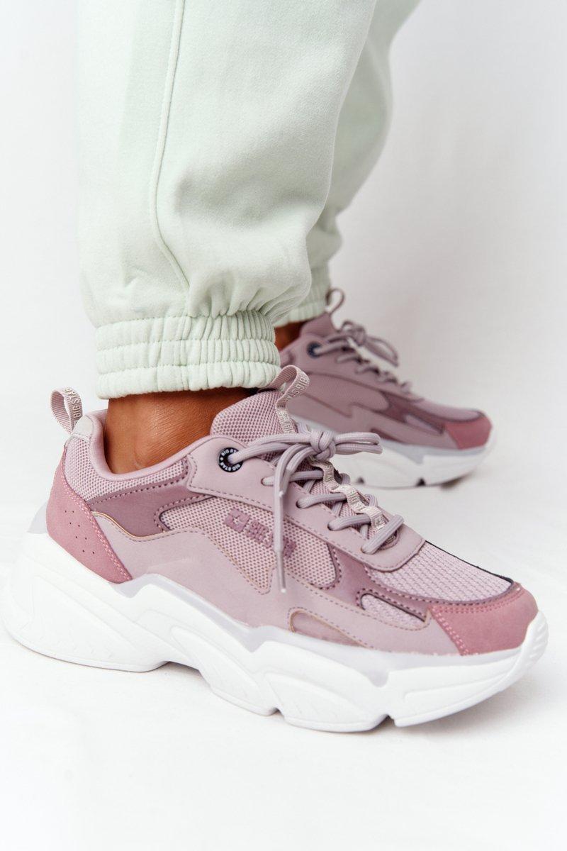 Women's Sneakers Memory Foam Big Star HH274258 Purple