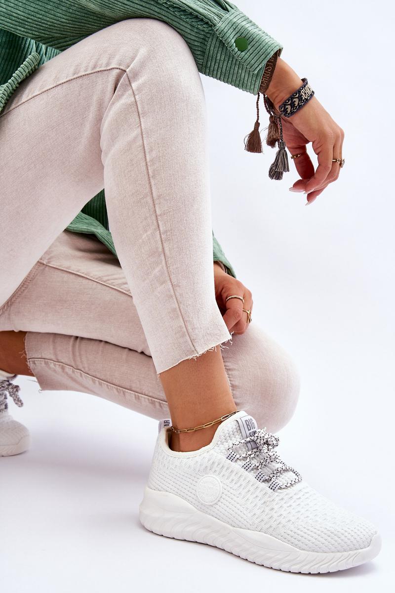 Women's Sneakers Memory Foam Big Star HH274296 White