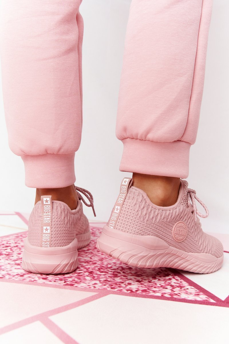 Women's Sneakers Memory Foam Big Star HH274299 Pink