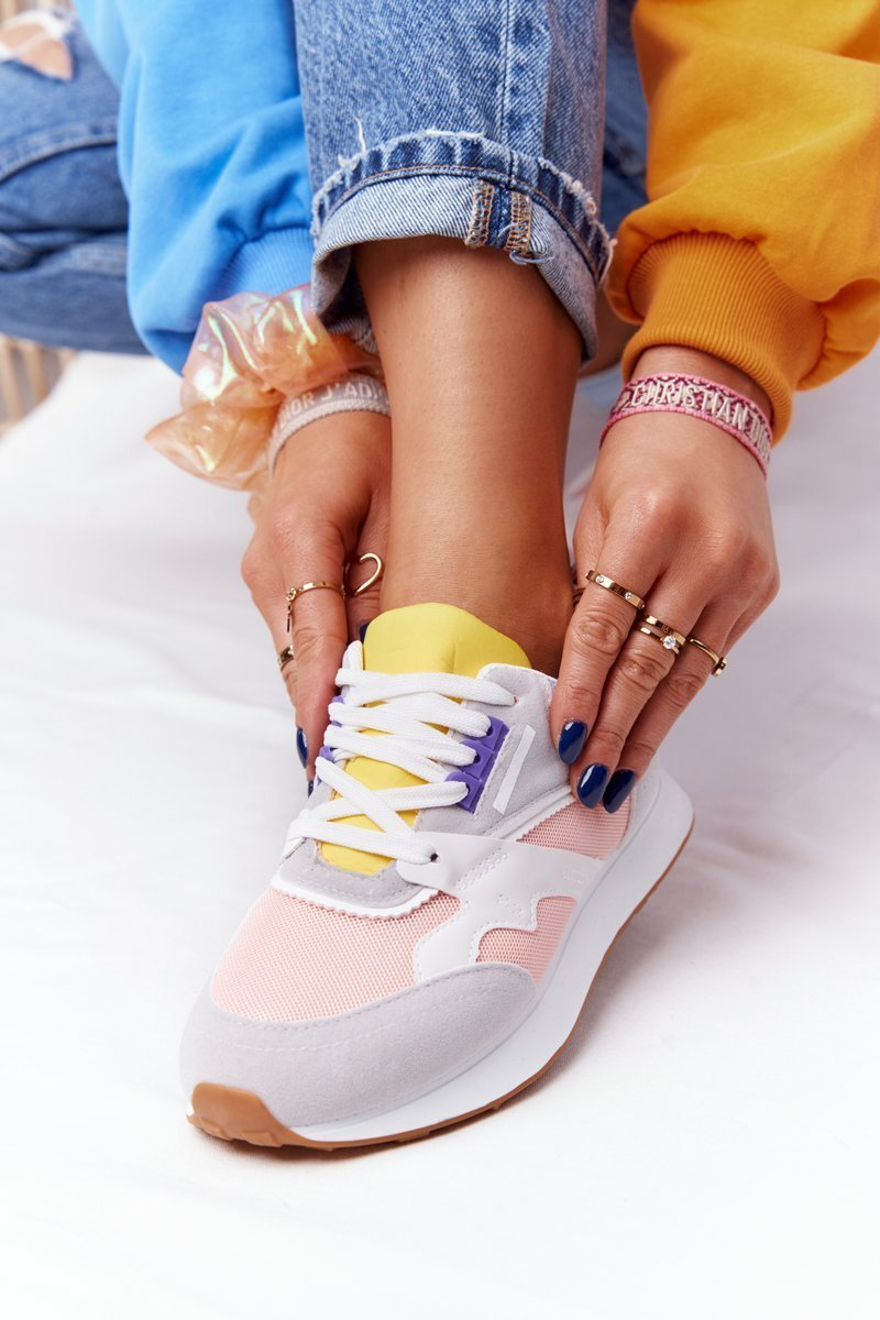 Women's Sport Shoes Sneakers Pink-Grey After Hours