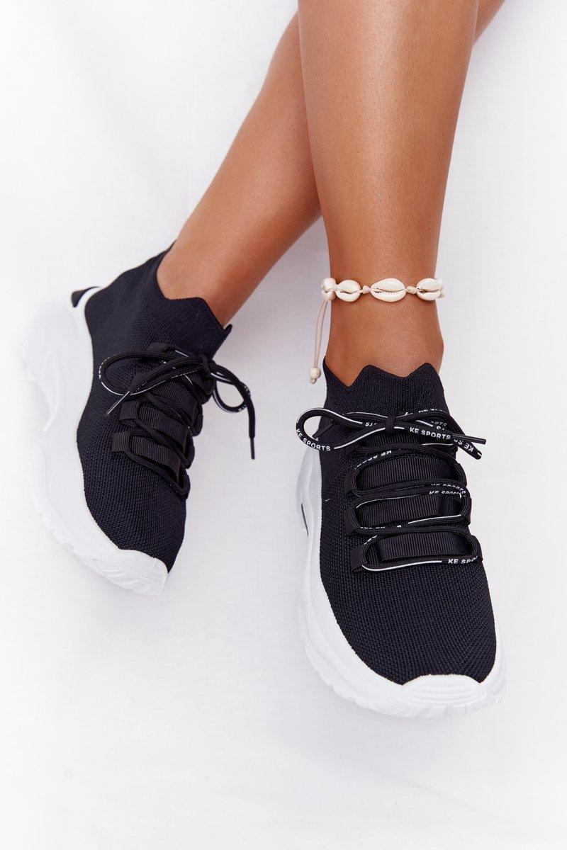 Women's Sport Sock Shoes Balck KeSport