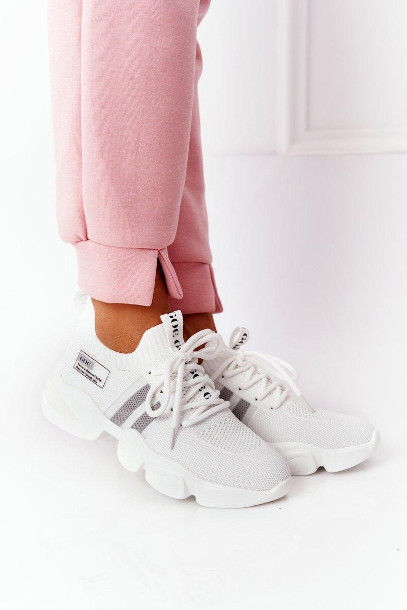 Women's Sport Sock Shoes GOE HH2N4016 White