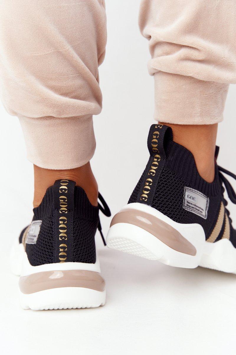 Women's Sport Sock Shoes GOE HH2N4017 Black