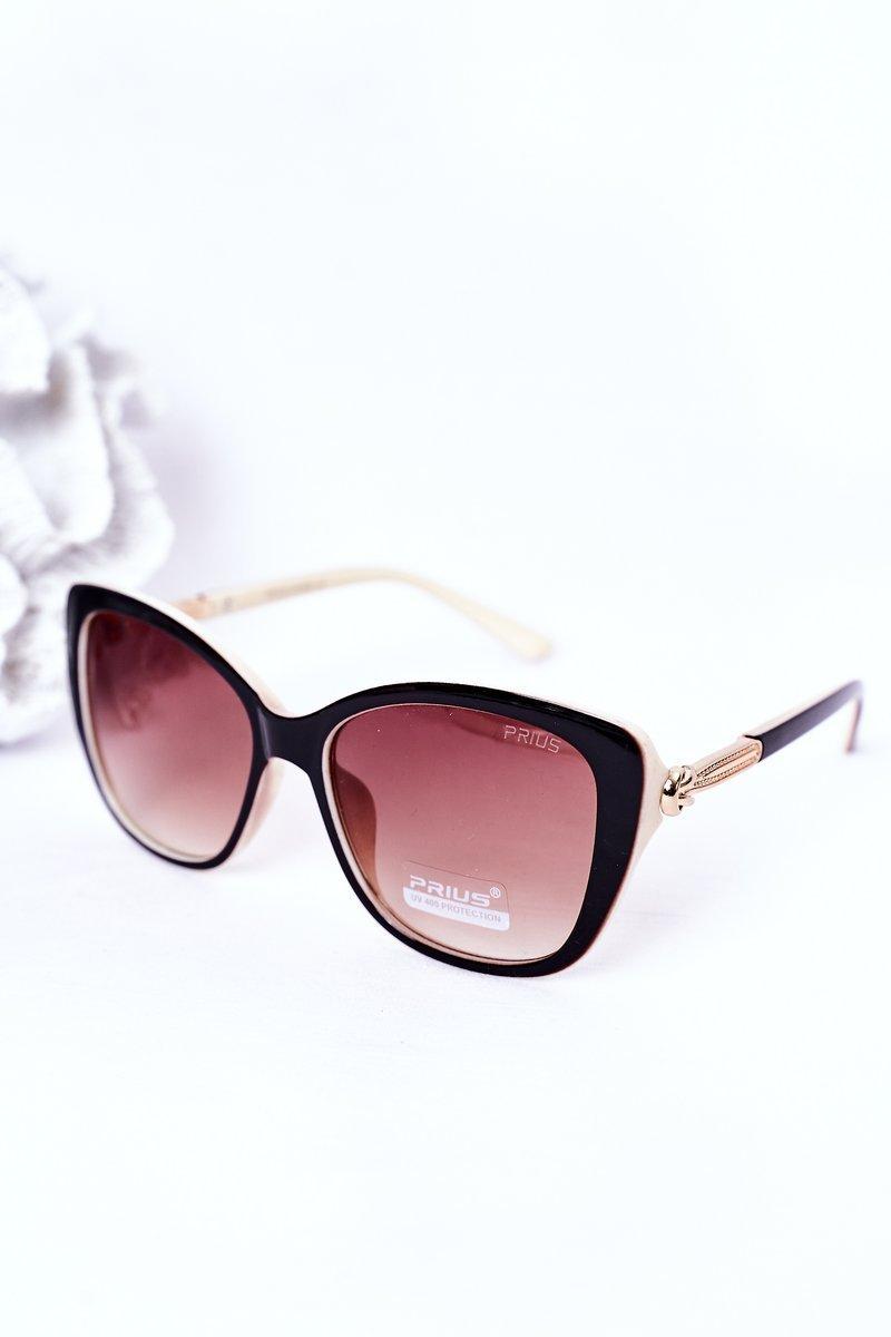 Women's Sunglasses Beige-Brown Ombre