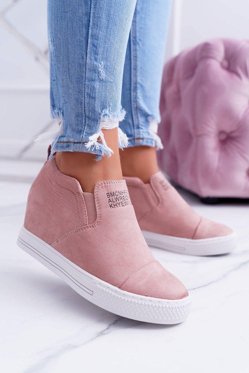 Women's Wedge Sneakers Lu Boo Pink Kaori