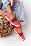Espadrilles On A Braided Sole Big Star HH274478 Red