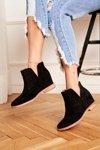 Openwork Boots On The Wedge S.Barski Black